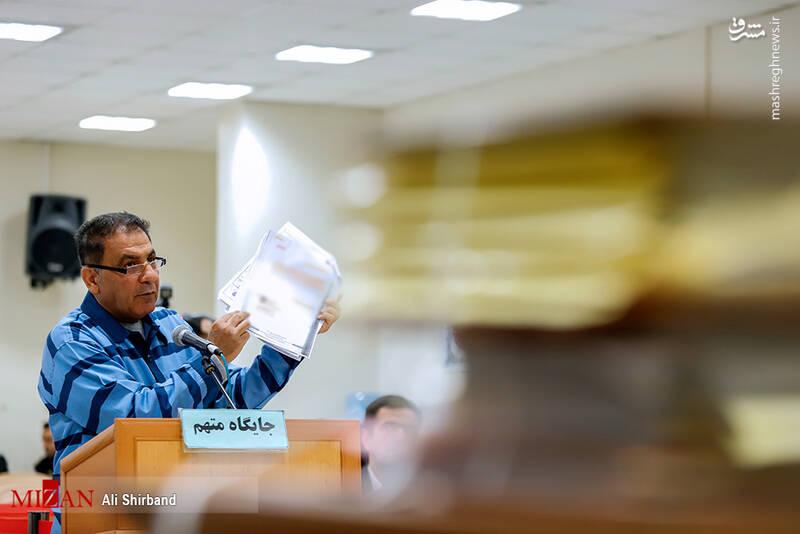 عکس/ ششمین جلسه رسیدگی به اتهامات حسین هدایتی - 13