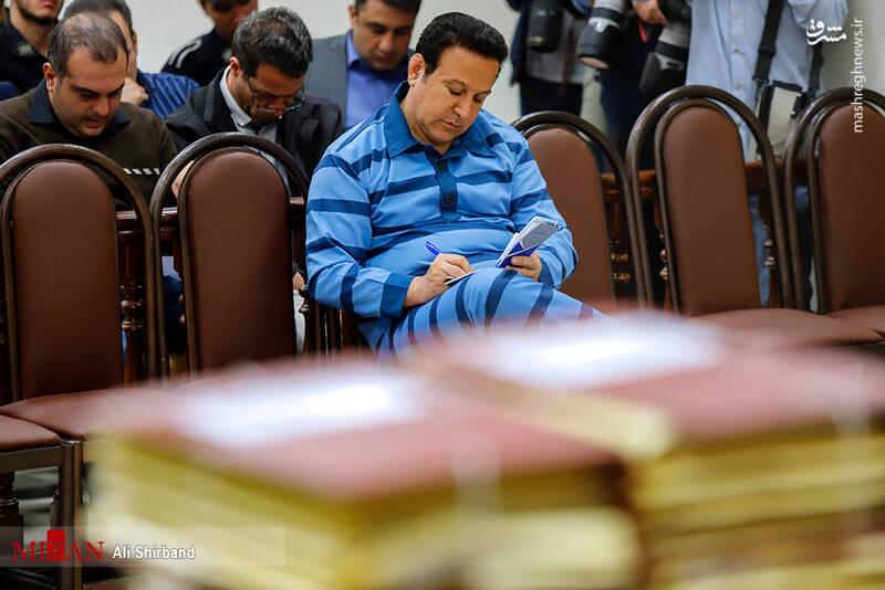 عکس/ ششمین جلسه رسیدگی به اتهامات حسین هدایتی - 8