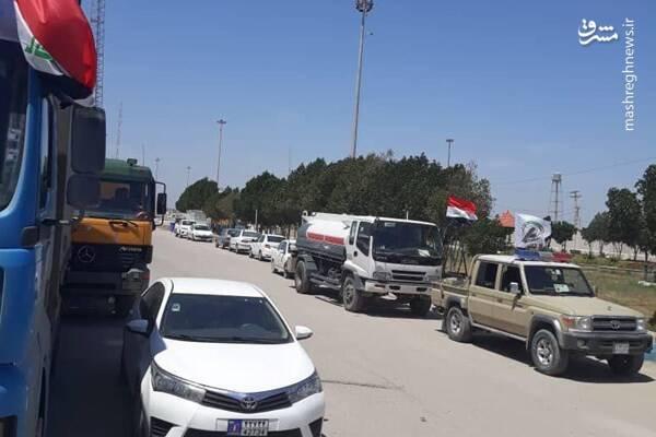 ۴۰۰ تن کمک به سیلزدگان از عراق وارد ایران شد+ عکس و فیلم