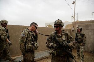 هماهنگی نیروهای آمریکایی
