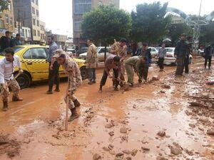 قدردانی سردار کمالی از کمک رسانی سربازان به سیل زدگان