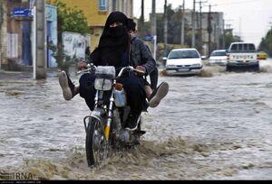 عکس/ جاری شدن سیلاب در زابل