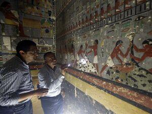 عکس/ رونمایی از مقبرهای با قدمت ۴۳۰۰ سال