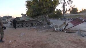 در پایتخت لیبی چه می گذرد؟/ تحولات میدانی حومه شهر طرابلس پس از 12 روز درگیری سنگین + نقشه میدانی و عکس
