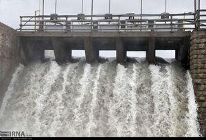 عکس/ سرریز شدن آب سد گلستان مشهد