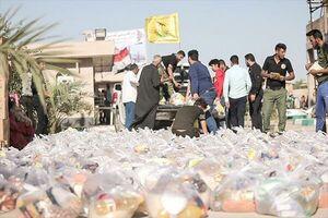 فیلم/ قدردانی مردم سیلزده از خدمات نُجَباء عراق