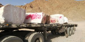 چوب حراج به سنگهای ساختمانی ایران +عکس