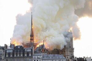 آتشسوزی کلیسای پاریس هم کار سپاهه!