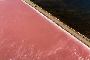 دریاچه های صورتی استرالیا