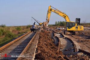 تلاش راه آهن