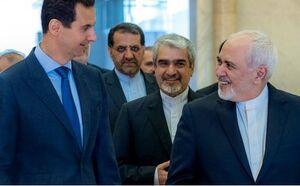 ظریف و بشار اسد