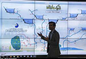 وضعیت ورودی و خروجی سدهای خوزستان