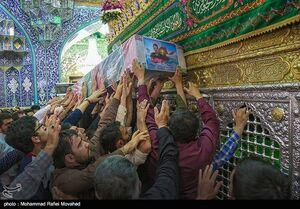 """عکس/ تشییع پیکر شهید """"جلالی نسب"""" در قم"""