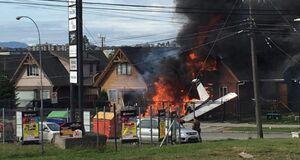 سقوط مرگبار هواپیما در شیلی