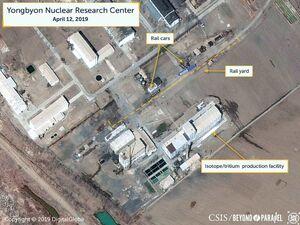 تحرکات کره شمالی در سایت اصلی غنی سازی اورانیوم