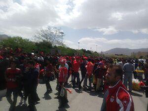 عکس/ حال و هوای ورزشگاه قبل از بازی پرسپولیس