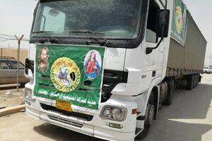 ورود کمکهای جدید الحشد الشعبی و مسیحیان عراق به ایران+ عکس