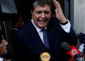 خودکشی رئیس جمهور سابق پرو