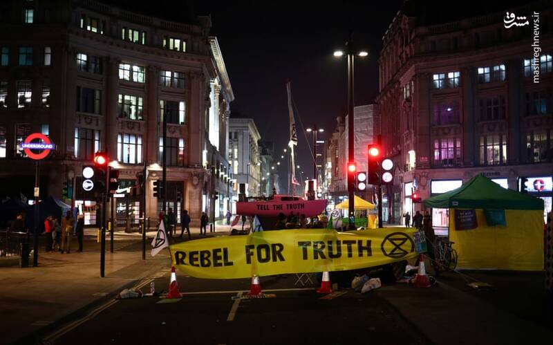 عکس/ بازداشت بیش از ۱۲۰ فعال محیط زیست در لندن - 18