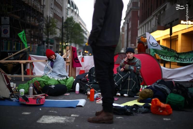 عکس/ بازداشت بیش از ۱۲۰ فعال محیط زیست در لندن - 11