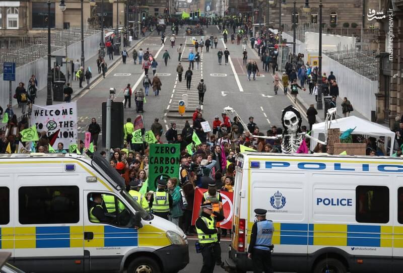 عکس/ بازداشت بیش از ۱۲۰ فعال محیط زیست در لندن - 9
