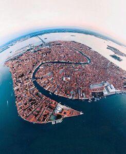 عکس/ نمایی زیبا از شهر ونیز