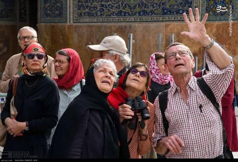 واکنش گردشگران خارجی به هنر معماری اصفهان