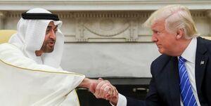 ترامپ و ولیعهد ابوظبی