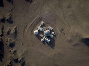 عکس/ کره مریخ در چین !