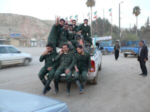 رژه دیدنی نیروهای جهادی در لرستان +فیلم