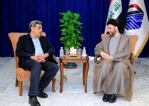 دیدار شهردار تهران با حکیم