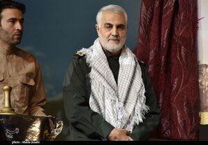 """فیلم/ عربی صحبتکردن""""حاج قاسم""""با هموطن عرب"""