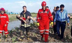 جسد بیجان کودک ۴ ساله از کانال دهرود مشهد پیدا شد