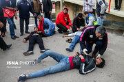 مقصران اصلی حادثه تلخ یادگار امام تبریز/ علت باران سنگ و صندلی هواداران تراکتورسازی چیست؟