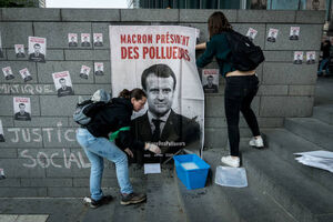 فیلم/ ادامه تظاهرات در فرانسه