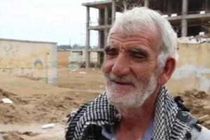 فیلم/ پیرمرد جهادی در حال امدارسانی