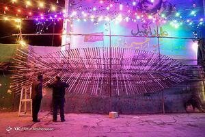 عکس/ آذین بندی تهران به مناسبت نیمه شعبان