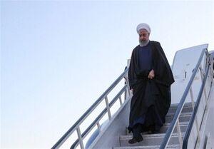 رئیس جمهور وارد خوزستان شد