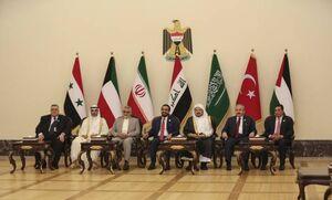 عکس/ اولین اجلاس پارلمانهای ۶ کشور همسایه عراق