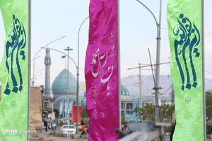 عکس/ حال و هوای مسجد جمکران درآستانه نیمه شعبان