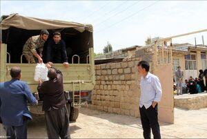فیلم/ هنرمندانی که خود را به خوزستان رساندند
