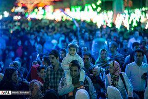 عکس/ جشن نیمه شعبان در خیابانهای تهران