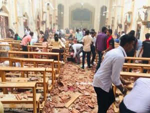 انفجار سریلانکا