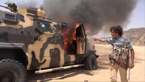 شکست سنگین مزدوران چند ملیتی رژیم سعودی در جنوب استان نجران عربستان/ پیشروی رزمندگان یمنی در شمال شرق استان صعده یمن + نقشه میدانی و عکس