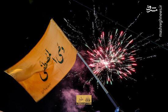 فیلم/ جشن ولادت امام زمان(عج) در خیابانهای تهران