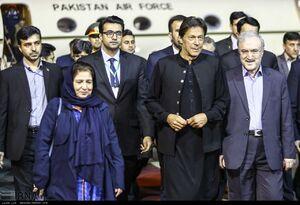 عکس/ ورود نخست وزیر پاکستان به تهران