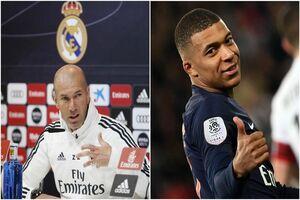 علاقه امباپه به زیدان و رئال مادرید