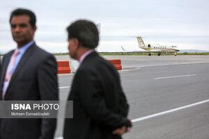 """عکس/ هواپیمای """"عمرانخان"""" در سفر به ایران"""