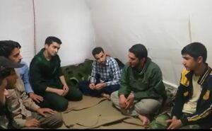 فیلم/ جشن کوچک نیروهای جهادی در آق قلا