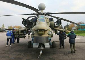عکس/ پرواز نمونه جدید بالگرد رزمی روسها